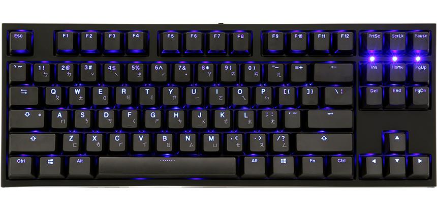 One 2 Blue LED TKL