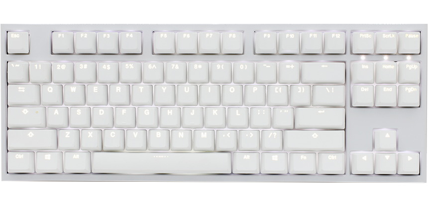 One 2 White Edition TKL