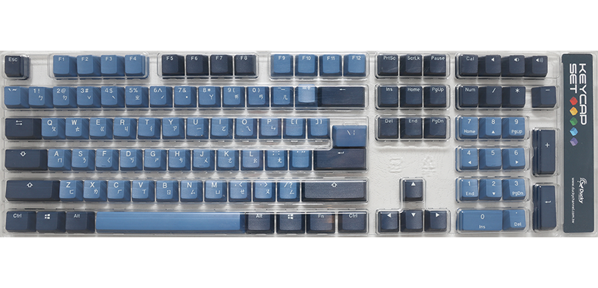 Good in Blue keycap