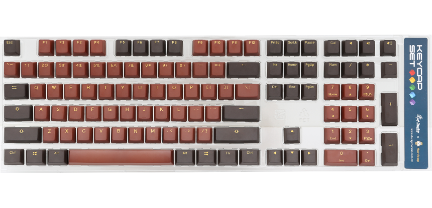 Chocolate keycap