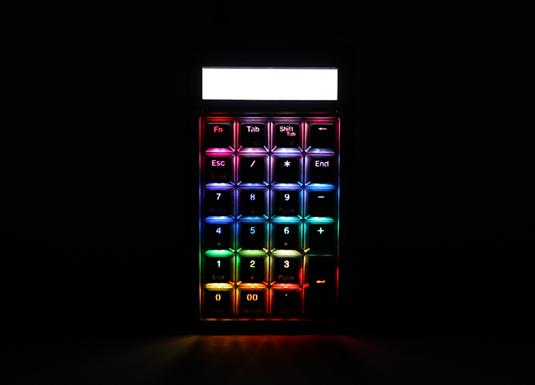 100% Full Backlighting, Breathing, Color Cycling, Wave and Rain Drop mode <br />