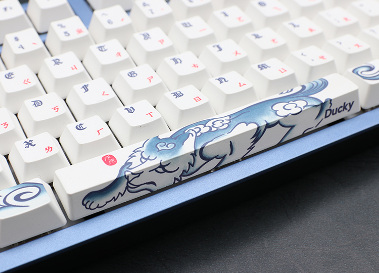 Keycaps designed by Michael Chan.