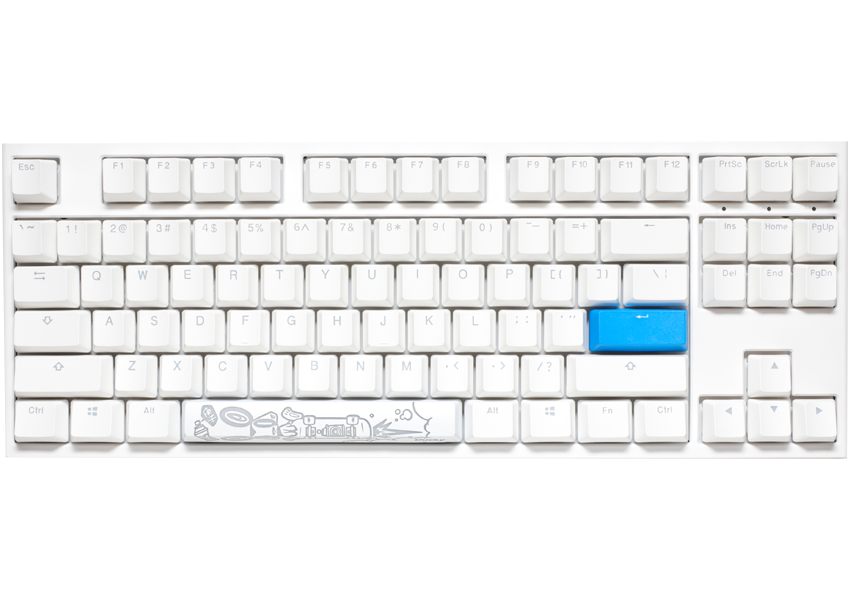 One 2 RGB TKL White