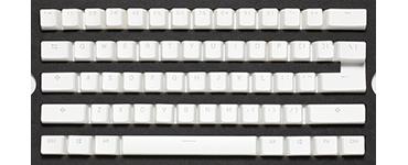 White Pudding keycap