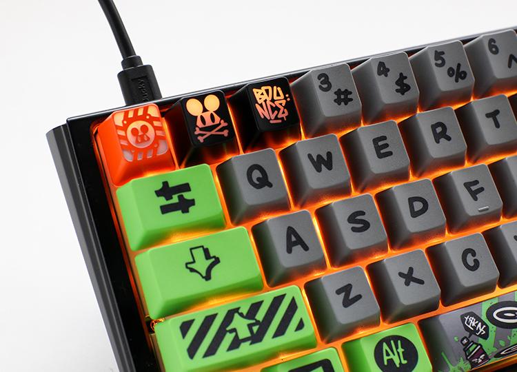 """3 unique iconic """"Bounce Mouse"""" keycaps"""
