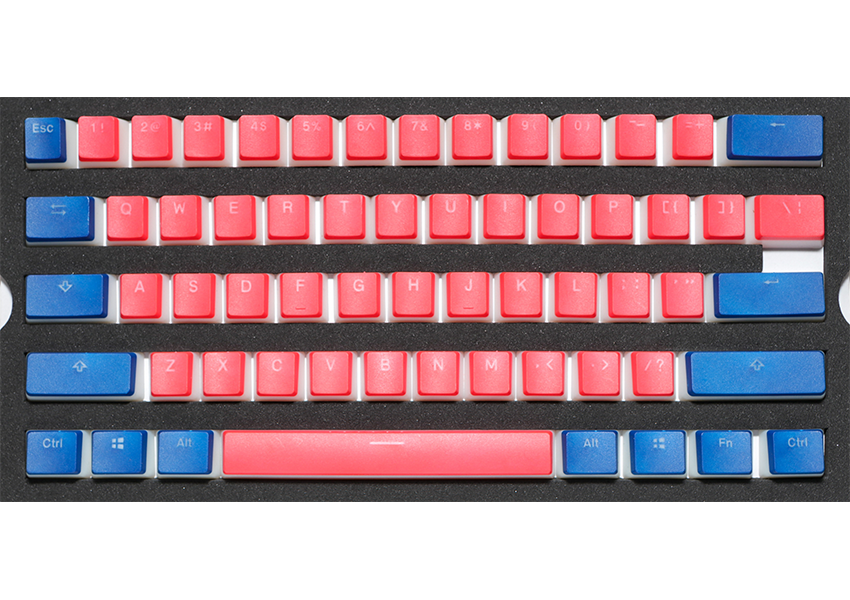 Dual Color Pudding Keycaps